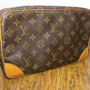 Authentic Louis Vuitton clutch Compiegne 28